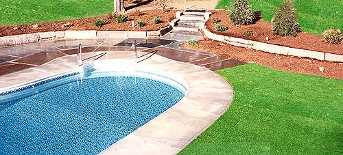 how to fix dead grass from pool